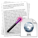 Convert Multiple Text Files To XML Files Software icon