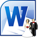 MS Word Wedding Invitation Template Software icon