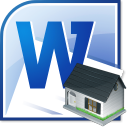 MS Word Rental Application Template Software icon