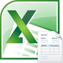 Excel Invoice Template Software icon