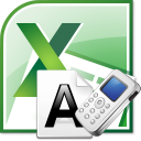 Excel Convert Letters to Phone Numbers Software icon