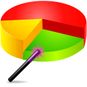 Pie Chart Graph Generator Software icon