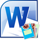MS Word Photo Greeting Card Template Software icon