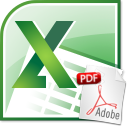 Excel Import Multiple PDF Files Software icon