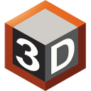 TriDef 3D icon