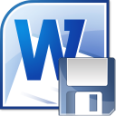 MS Word Backup File Auto Save Software icon