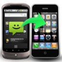 Backuptrans Android SMS to iPhone Transfer icon