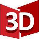 Soda PDF 3D Reader icon