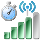 Automatically Log WiFi Signal Strength Over Time Software icon