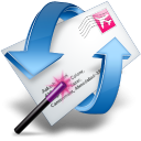 Change Default Email To Gmail, Yahoo! Mail, Windows Live Hotmail or AOL Mail Software icon