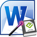 MS Word To EPUB Converter Software icon