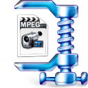 MPG File Size Reduce Software icon