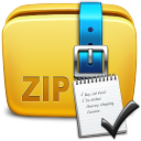 List The Contents Of Multiple Zip Files and Save As Text File Software icon