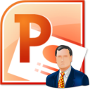 MS PowerPoint Business Slides Template Software icon