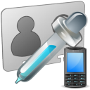 Extract Phone Numbers From Multiple VCF Files Software icon