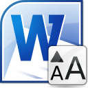MS Word Change Font Size and Style In Multiple Documents Software icon