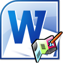 MS Word Business Brochure Template Software icon