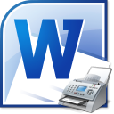 MS Word Fax Cover Sheet Template Software icon