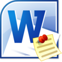 MS Word Memorandum Template Software icon