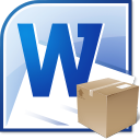 MS Word Return Address Labels Template Software icon