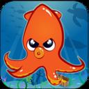 Octopus Blast: ink rush icon