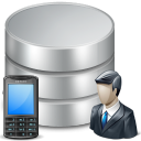 Customer Call Tracking Database Software icon