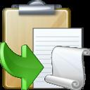 Paste As File icon
