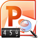 MS PowerPoint Word Count & Frequency Statistics Software icon