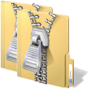 Zip Multiple Folders Into Separate Files Software icon