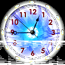 7art Aquarius Clock © 7art-screensavers.com icon