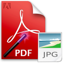 Convert Multiple PDF Files To JPG Files Software icon