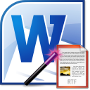 MS Word Export To Multiple RTF Files Software icon