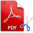 PDF Split Multiple Files Software icon
