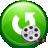 Aigo Video to AVI MPEG XVID MOV FLV WMV ASF RM Converter icon