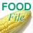 Kelpiesoft Food File icon