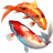 Koi Fish 3D Screensaver icon