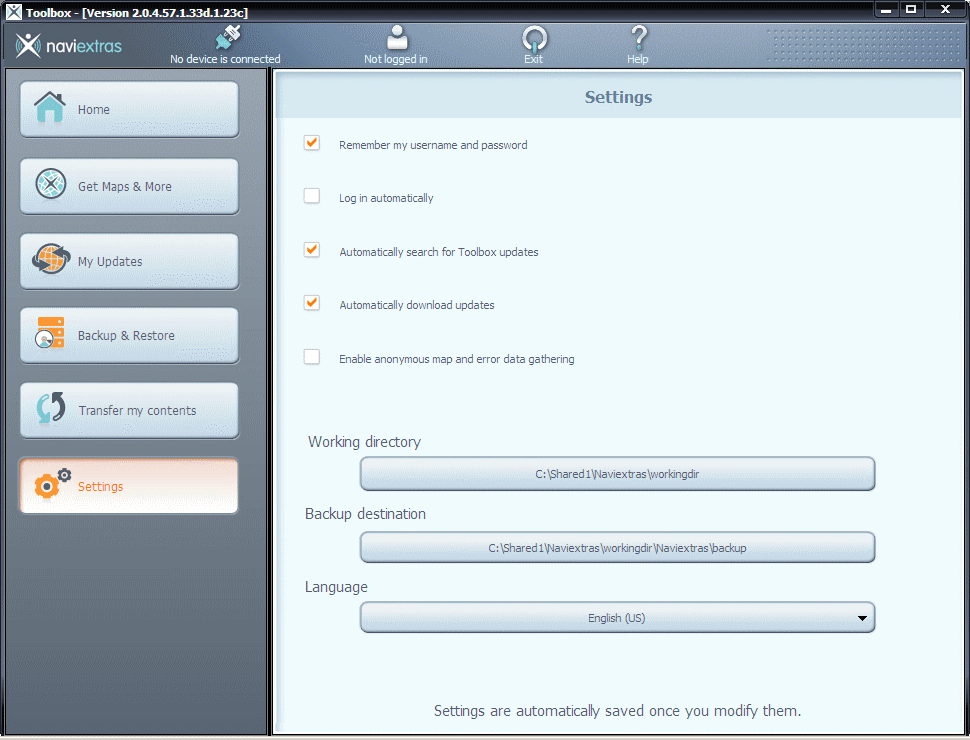 Naviextras Toolbox download for free - SoftDeluxe