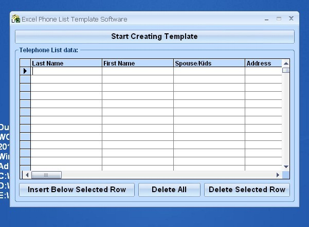 Excel Phone List Template Software latest version - Get best ...