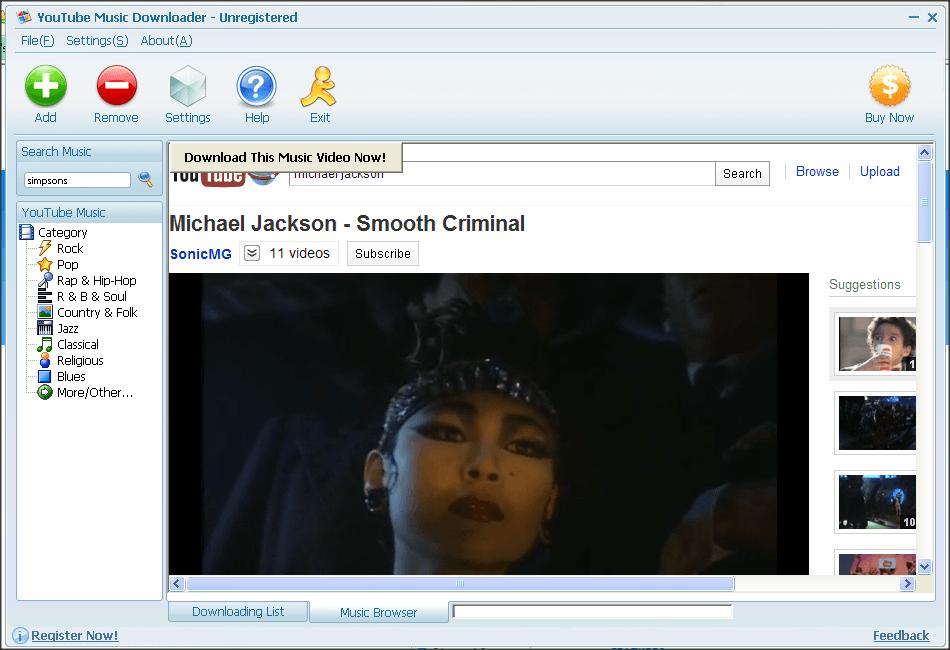 Identify music in videos