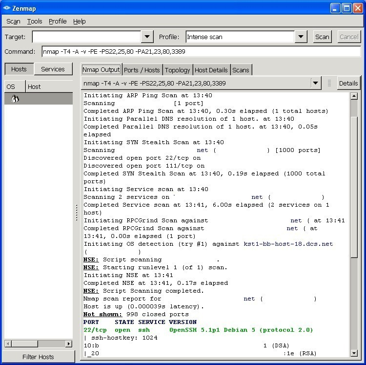 zenmap gui essay Zenmap gui (nmap) and nessus 1 what are the differences between zenmap gui (nmap) and nessus 2 which scanning application is better for performing a network discovery reconnaissance probing of an ip network infrastructure.