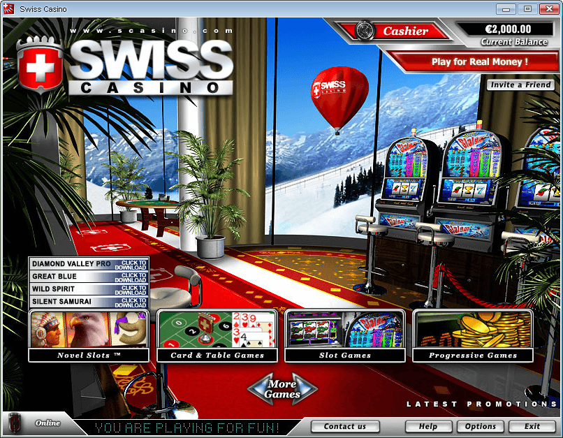 Swiss Casino Download
