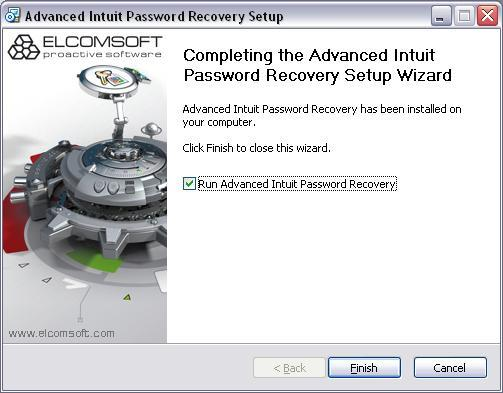 Advanced Intuit Password Recovery download for free - SoftDeluxe
