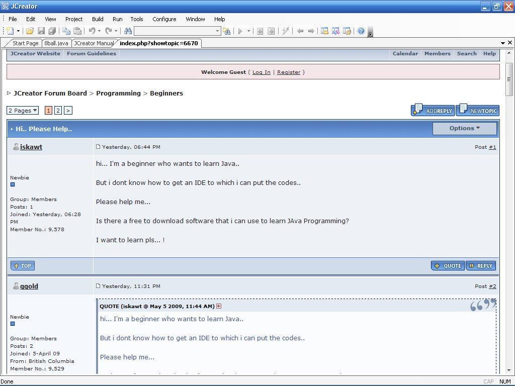 Download JCreator - free - latest version - Softonic