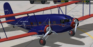Curtiss-Wright AT-32 Condor for FSX or FS2004 download for free