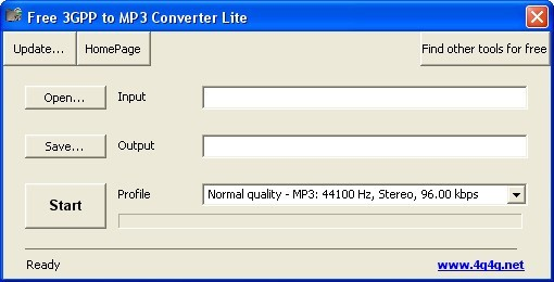 Free 3GPP to MP3 Converter (free) download Windows version