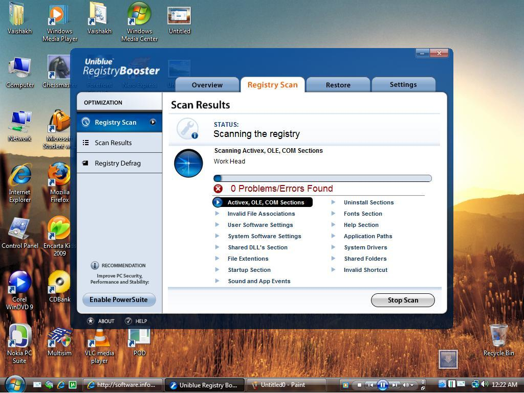 uniblue systems registry booster