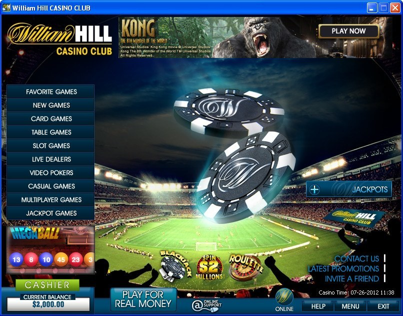 казино william hill отзывы