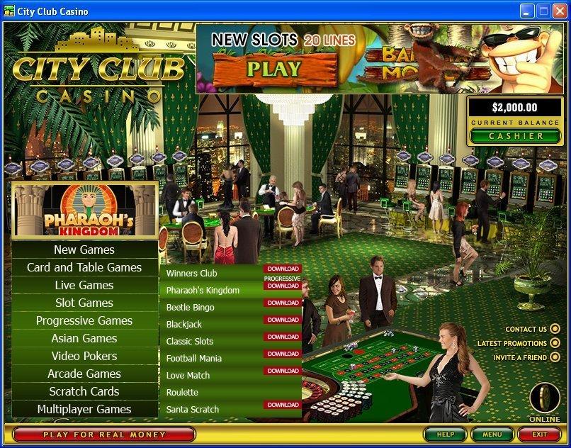 Casino Club Download Free