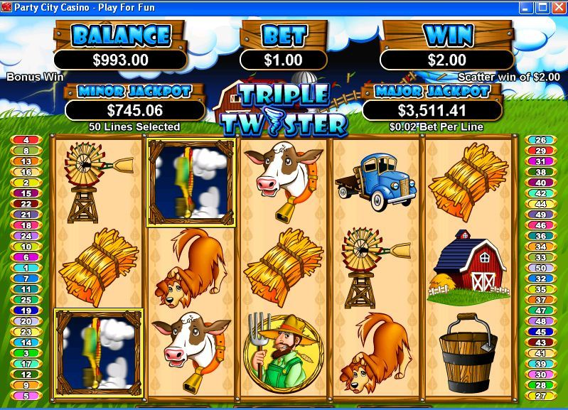 Party City Casino Instant Play