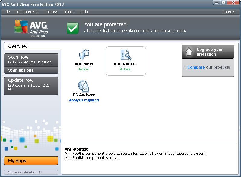 скачать avg free antivirus